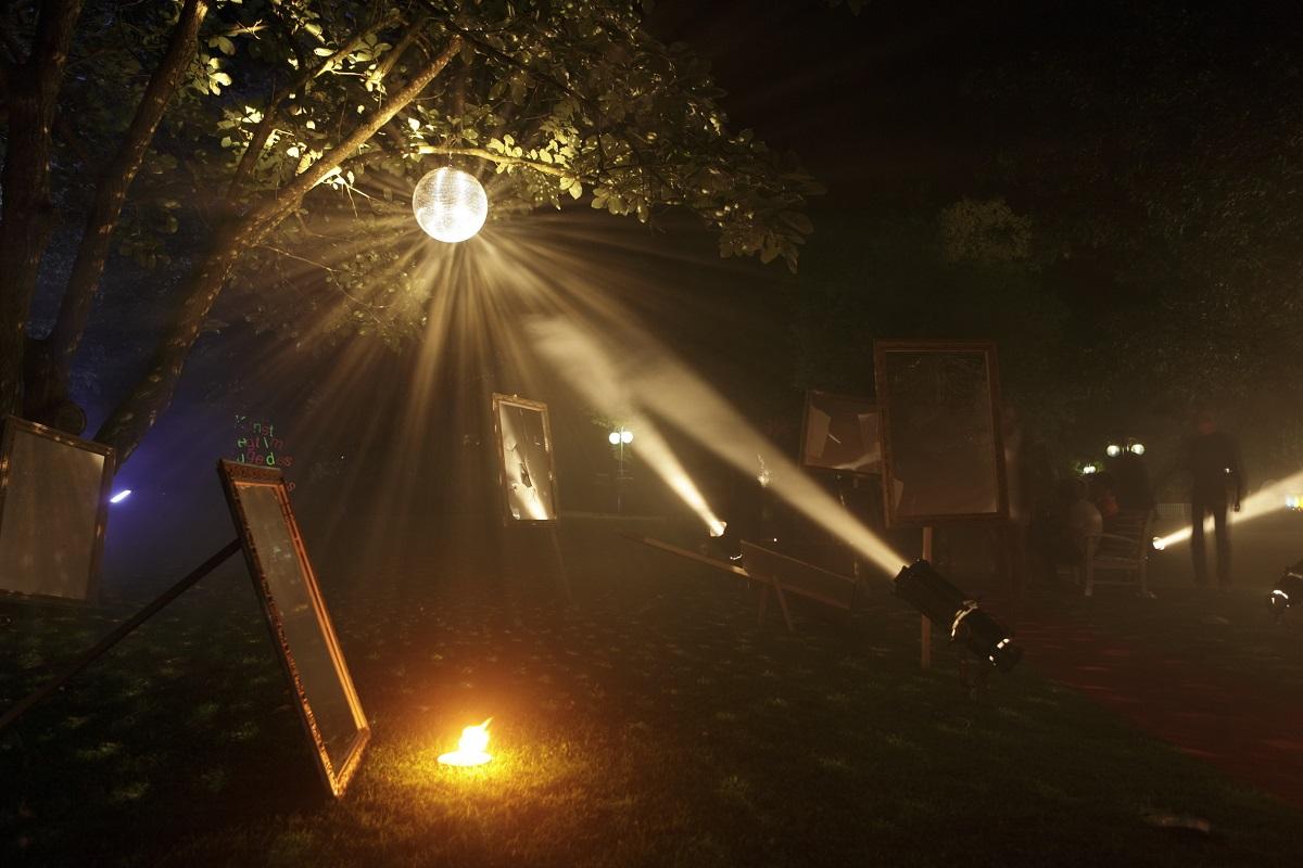 Bilder einer Parkausstellung